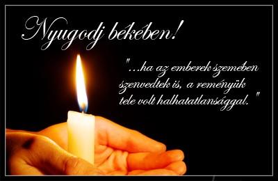 búcsúztató idézetek temetésre Gyertyaláng.hu | Keresztapa   Laci bácsi oldala